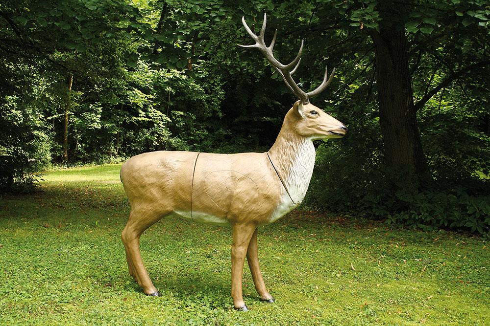 3D-Tiere Hirsch stehend