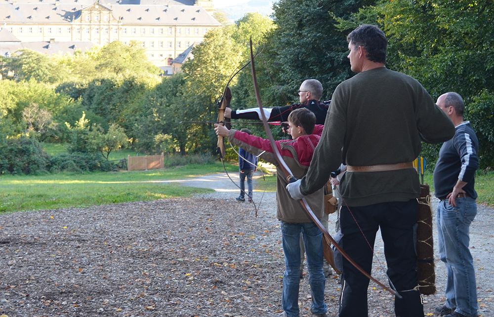 Bogensport-Schuetzen