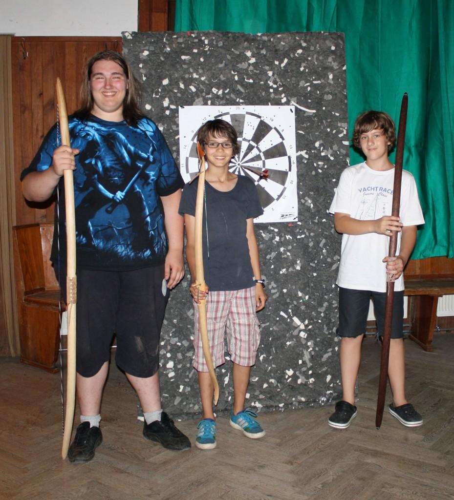 Gewinner-Bogenturnier-Kanutour