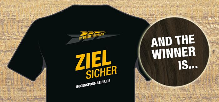 Bogensport Beier T-Shirt-Gewinner