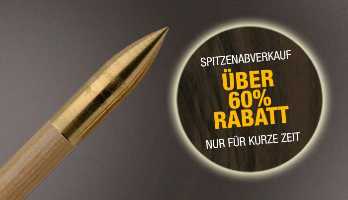 Bogensport Beier Rabatt Spitzen