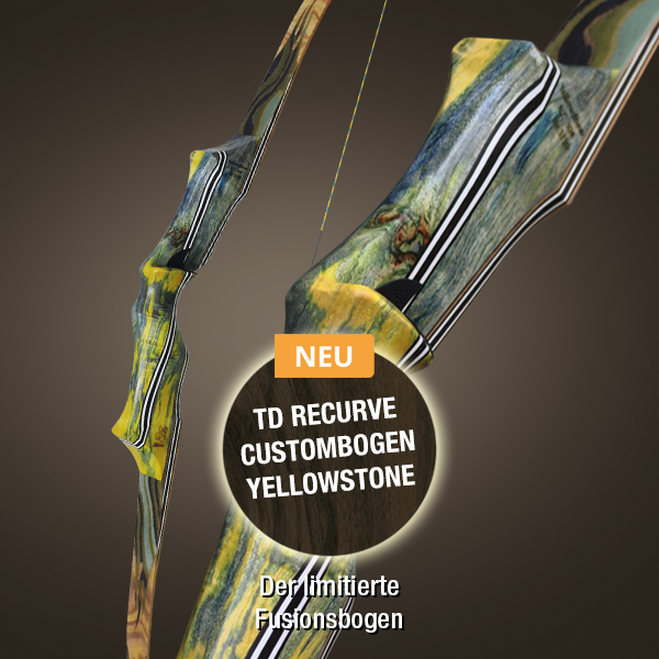 TD Recurve Custombogen Yellowstone