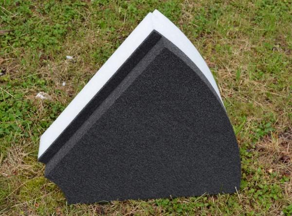 Ethafoam - Segment 125ziger f. Zielscheibe