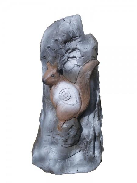 Leitold 3D Tier Stein mit Eichhörnchen und Marder