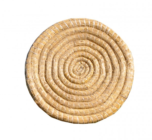 80 x 8 cm runde Traditionelle Strohzielscheibe Deluxe