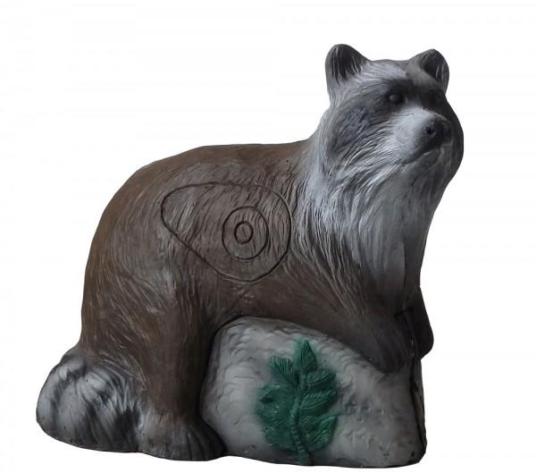 3D Tier großer Waschbär Leitold