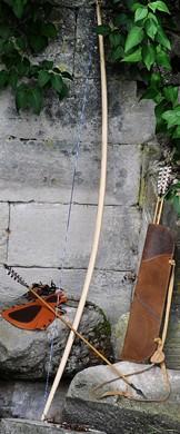 Optionaler Bambusrücken - Englischen Langbogen 3