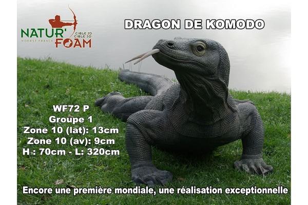 3D-Tier Naturfoam Komodowaran