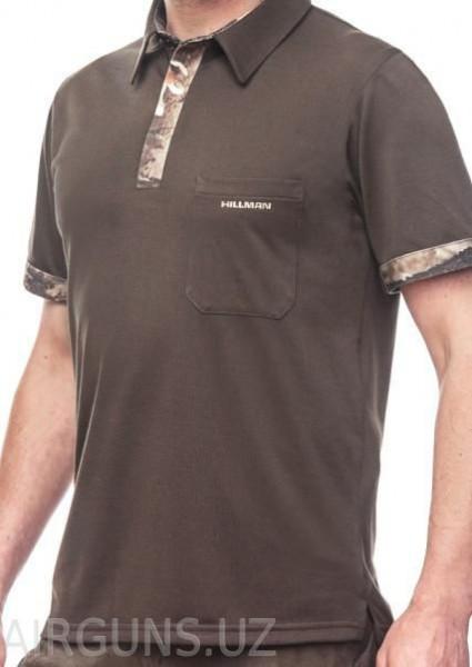 Hillman T-Shirt Duotone Collar Oak 3DX